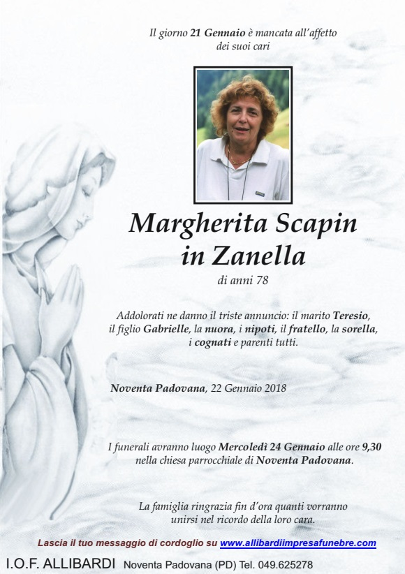 MARGHERITA SCAPIN